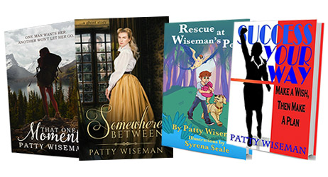 Learn more about Patty's books
